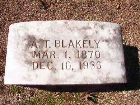 BLAKELY, A T - Dallas County, Arkansas | A T BLAKELY - Arkansas Gravestone Photos