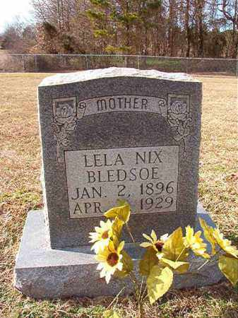 BLEDSOE, LELA - Dallas County, Arkansas | LELA BLEDSOE - Arkansas Gravestone Photos