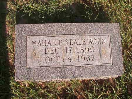 BOEN, MAHALIE - Dallas County, Arkansas | MAHALIE BOEN - Arkansas Gravestone Photos