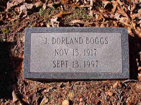BOGGS, J DORLAND - Dallas County, Arkansas | J DORLAND BOGGS - Arkansas Gravestone Photos