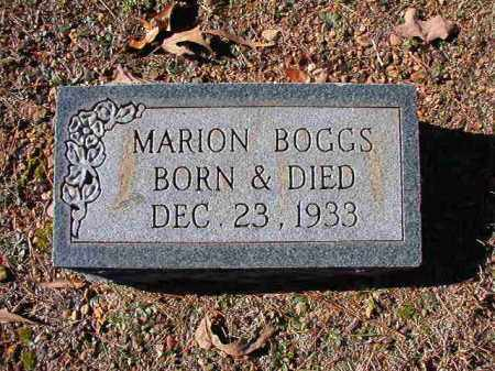 BOGGS, MARION - Dallas County, Arkansas | MARION BOGGS - Arkansas Gravestone Photos