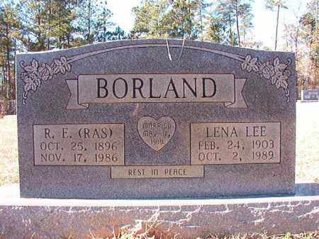 BORLAND, LENA LEE - Dallas County, Arkansas | LENA LEE BORLAND - Arkansas Gravestone Photos