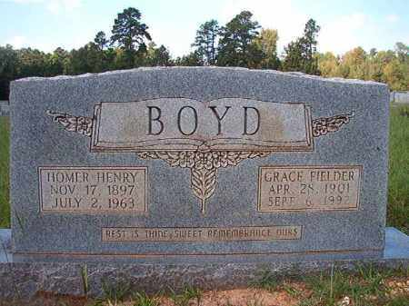 BOYD, HOMER HENRY - Dallas County, Arkansas | HOMER HENRY BOYD - Arkansas Gravestone Photos