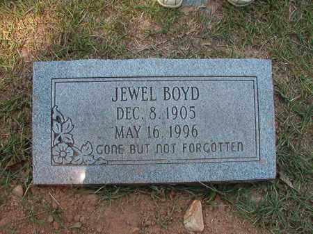 BOYD, JEWEL - Dallas County, Arkansas | JEWEL BOYD - Arkansas Gravestone Photos