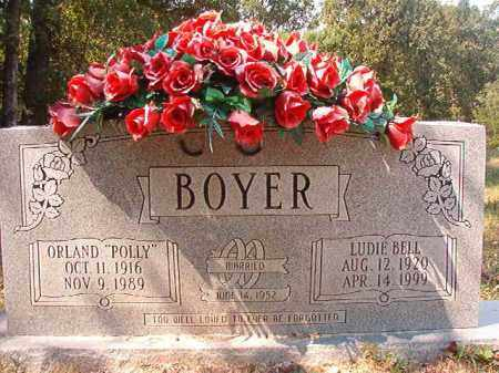 BOYER, LUDIE BELL - Dallas County, Arkansas | LUDIE BELL BOYER - Arkansas Gravestone Photos