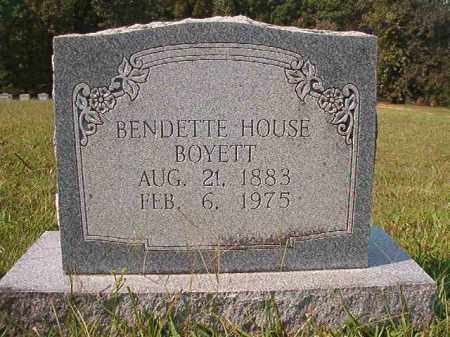 BOYETT, BENDETTE - Dallas County, Arkansas | BENDETTE BOYETT - Arkansas Gravestone Photos