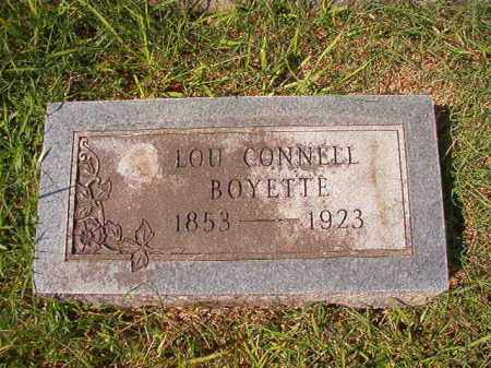 BOYETTE, LOU - Dallas County, Arkansas | LOU BOYETTE - Arkansas Gravestone Photos