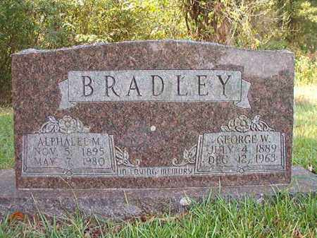 BRADLEY, GEORGE W - Dallas County, Arkansas | GEORGE W BRADLEY - Arkansas Gravestone Photos
