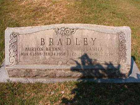 BRADLEY, BURTON BRYAN - Dallas County, Arkansas | BURTON BRYAN BRADLEY - Arkansas Gravestone Photos