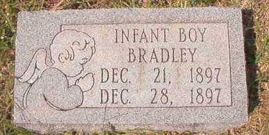 BRADLEY, INFANT BOY - Dallas County, Arkansas   INFANT BOY BRADLEY - Arkansas Gravestone Photos
