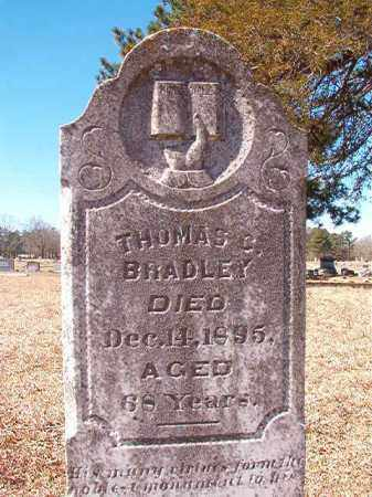 BRADLEY, THOMAS C - Dallas County, Arkansas | THOMAS C BRADLEY - Arkansas Gravestone Photos