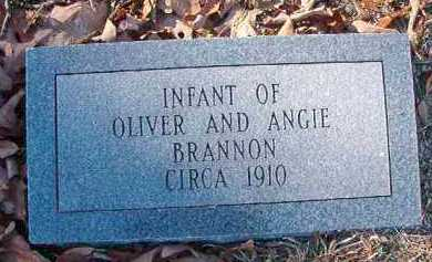 BRANNON, INFANT - Dallas County, Arkansas | INFANT BRANNON - Arkansas Gravestone Photos