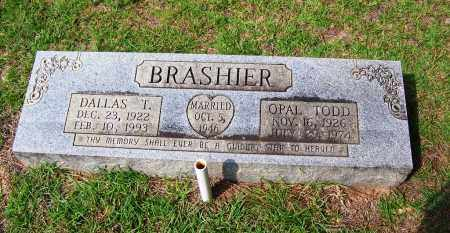 BRASHIER, OPAL NAOMI - Dallas County, Arkansas | OPAL NAOMI BRASHIER - Arkansas Gravestone Photos