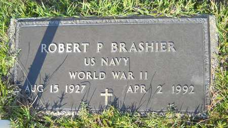 BRASHIER (VETERAN WWII), ROBERT P - Dallas County, Arkansas | ROBERT P BRASHIER (VETERAN WWII) - Arkansas Gravestone Photos