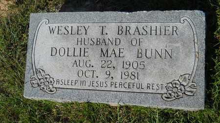 BRASHIER, WESLEY T - Dallas County, Arkansas | WESLEY T BRASHIER - Arkansas Gravestone Photos