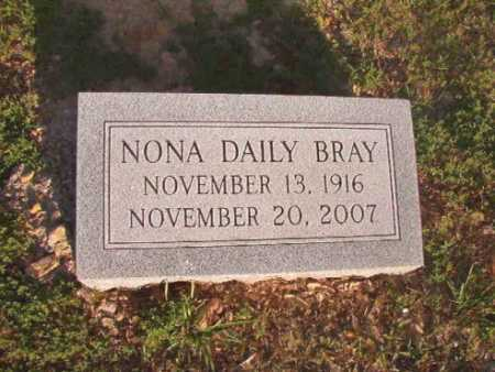 BRAY, NONA - Dallas County, Arkansas | NONA BRAY - Arkansas Gravestone Photos