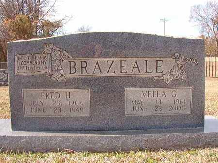 BRAZEALE, VELLA G - Dallas County, Arkansas | VELLA G BRAZEALE - Arkansas Gravestone Photos