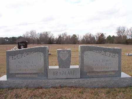 BRAZEALE, MALCOM E - Dallas County, Arkansas | MALCOM E BRAZEALE - Arkansas Gravestone Photos