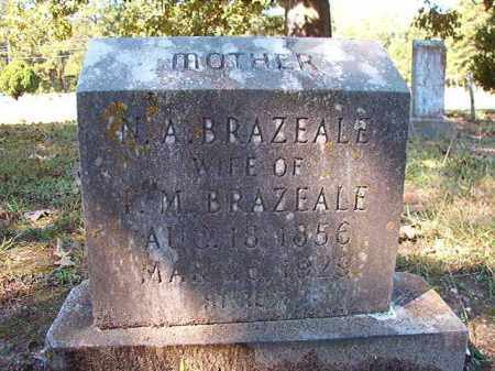 BRAZEALE, N A - Dallas County, Arkansas | N A BRAZEALE - Arkansas Gravestone Photos