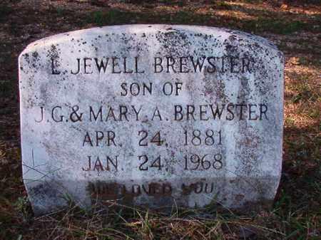 BREWSTER, L JEWELL - Dallas County, Arkansas | L JEWELL BREWSTER - Arkansas Gravestone Photos