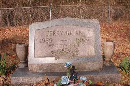 BRIAN, JERRY - Dallas County, Arkansas | JERRY BRIAN - Arkansas Gravestone Photos