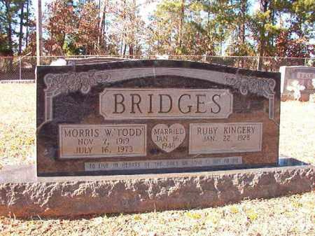 "BRIDGES, MORRIS W ""TODD"" - Dallas County, Arkansas | MORRIS W ""TODD"" BRIDGES - Arkansas Gravestone Photos"