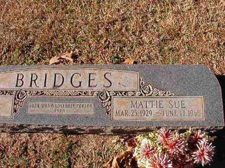 BRIDGES, MATTIE SUE - Dallas County, Arkansas | MATTIE SUE BRIDGES - Arkansas Gravestone Photos