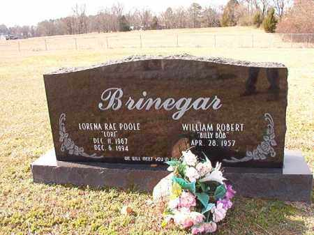 POOLE BRINEGAR, LORENA RAE - Dallas County, Arkansas | LORENA RAE POOLE BRINEGAR - Arkansas Gravestone Photos