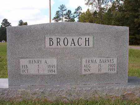 BROACH, ERMA - Dallas County, Arkansas | ERMA BROACH - Arkansas Gravestone Photos