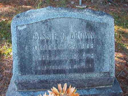 BROWN, BESSIE G - Dallas County, Arkansas | BESSIE G BROWN - Arkansas Gravestone Photos