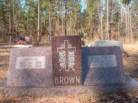 BROWN, DOROTHY C - Dallas County, Arkansas | DOROTHY C BROWN - Arkansas Gravestone Photos