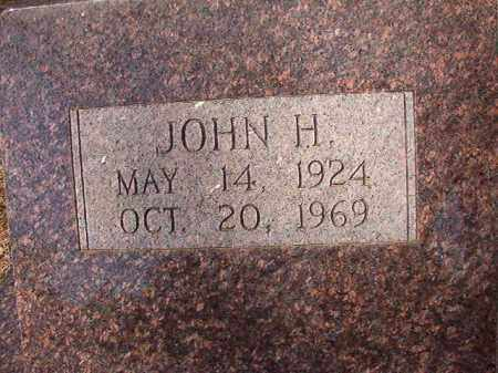 BROWN, JOHN H - Dallas County, Arkansas | JOHN H BROWN - Arkansas Gravestone Photos