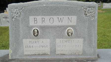 BROWN, MARY A - Dallas County, Arkansas | MARY A BROWN - Arkansas Gravestone Photos