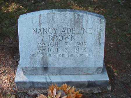BROWN, NANCY ADELINE - Dallas County, Arkansas | NANCY ADELINE BROWN - Arkansas Gravestone Photos