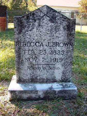 BROWN, REBECCA J - Dallas County, Arkansas | REBECCA J BROWN - Arkansas Gravestone Photos
