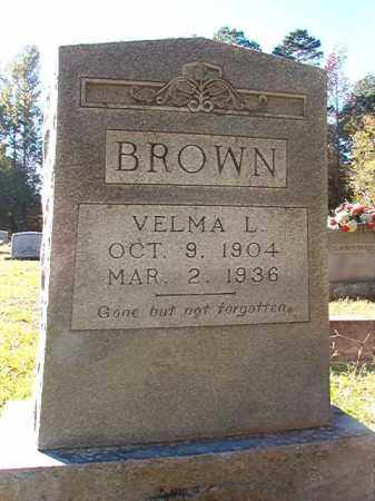 BROWN, VELMA L - Dallas County, Arkansas | VELMA L BROWN - Arkansas Gravestone Photos