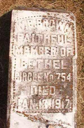 BROWN, W B - Dallas County, Arkansas | W B BROWN - Arkansas Gravestone Photos