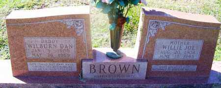BROWN, WILLIE JOE - Dallas County, Arkansas | WILLIE JOE BROWN - Arkansas Gravestone Photos