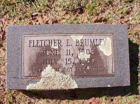 BRUMLEY, FLETCHER E - Dallas County, Arkansas | FLETCHER E BRUMLEY - Arkansas Gravestone Photos