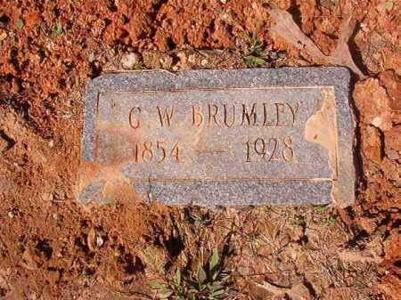 BRUMLEY, G W - Dallas County, Arkansas | G W BRUMLEY - Arkansas Gravestone Photos