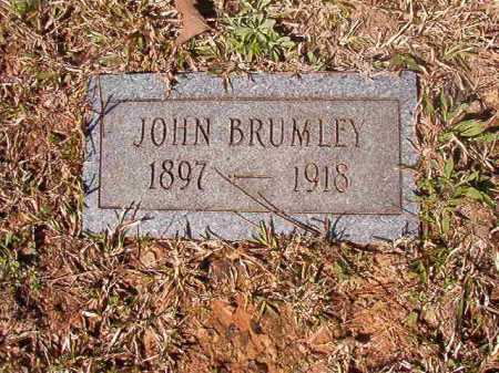 BRUMLEY, JOHN - Dallas County, Arkansas | JOHN BRUMLEY - Arkansas Gravestone Photos