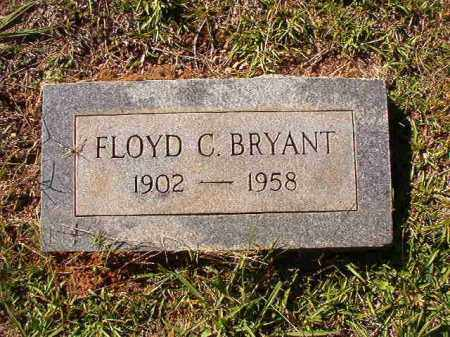 BRYANT, FLOYD C - Dallas County, Arkansas | FLOYD C BRYANT - Arkansas Gravestone Photos