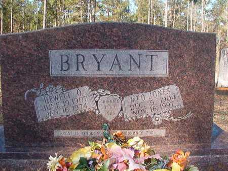 JONES BRYANT, MED - Dallas County, Arkansas | MED JONES BRYANT - Arkansas Gravestone Photos