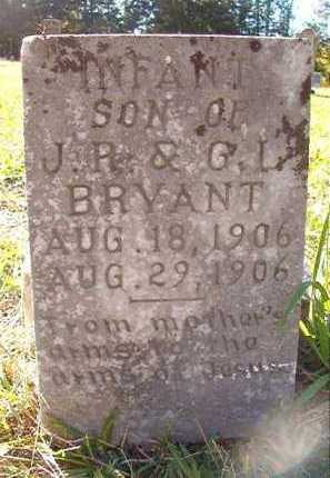 BRYANT, INFANT SON - Dallas County, Arkansas | INFANT SON BRYANT - Arkansas Gravestone Photos