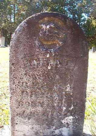 BRYANT, INFANT DAUGHTER - Dallas County, Arkansas | INFANT DAUGHTER BRYANT - Arkansas Gravestone Photos