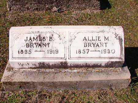 BRYANT, ALLIE M - Dallas County, Arkansas | ALLIE M BRYANT - Arkansas Gravestone Photos