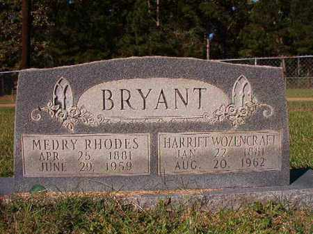 BRYANT, MEDRY RHODES - Dallas County, Arkansas | MEDRY RHODES BRYANT - Arkansas Gravestone Photos
