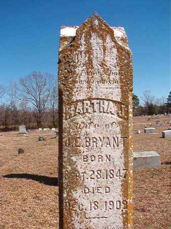 BRYANT, MARTHA J - Dallas County, Arkansas | MARTHA J BRYANT - Arkansas Gravestone Photos