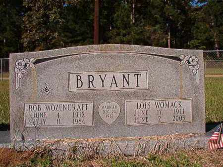 WOMACK BRYANT, LOIS - Dallas County, Arkansas | LOIS WOMACK BRYANT - Arkansas Gravestone Photos