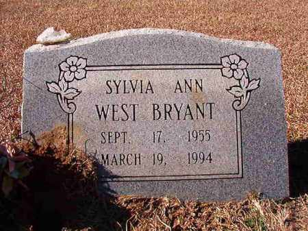 WEST BRYANT, SYLVIA ANN - Dallas County, Arkansas | SYLVIA ANN WEST BRYANT - Arkansas Gravestone Photos